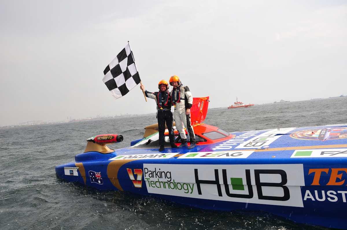 Denizlerin Formula 1'i Tamamlandı
