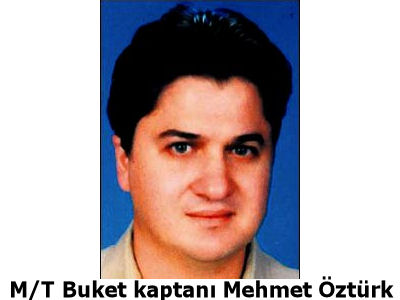 Kaptan Mehmet Öztürk Türkiye'de