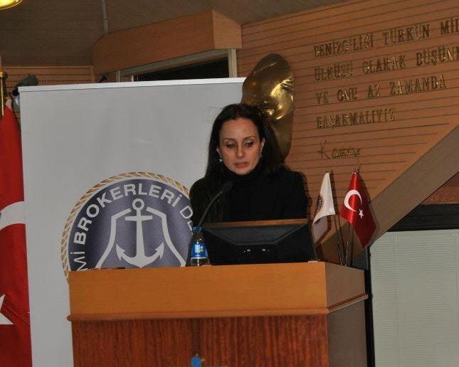 """Gemi Brokerleri """"Pınar Kalkavan ile devam"""""""