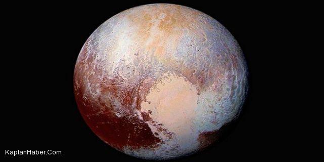 """""""Gizemli gezegen"""" Plüton'un yeni fotoğrafları yayımlandı"""