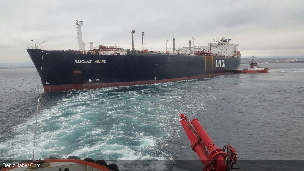 LNG Tankeri Ramdane Abane Tehlike Yarattı