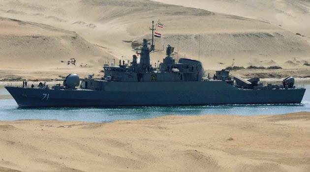 İran'ın 2 Savaş Gemisi Suriye'de