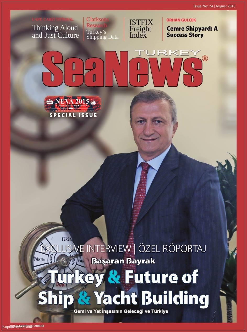 SeaNews Dergisi Ağustos 2015 Sayısı Yayınlandı