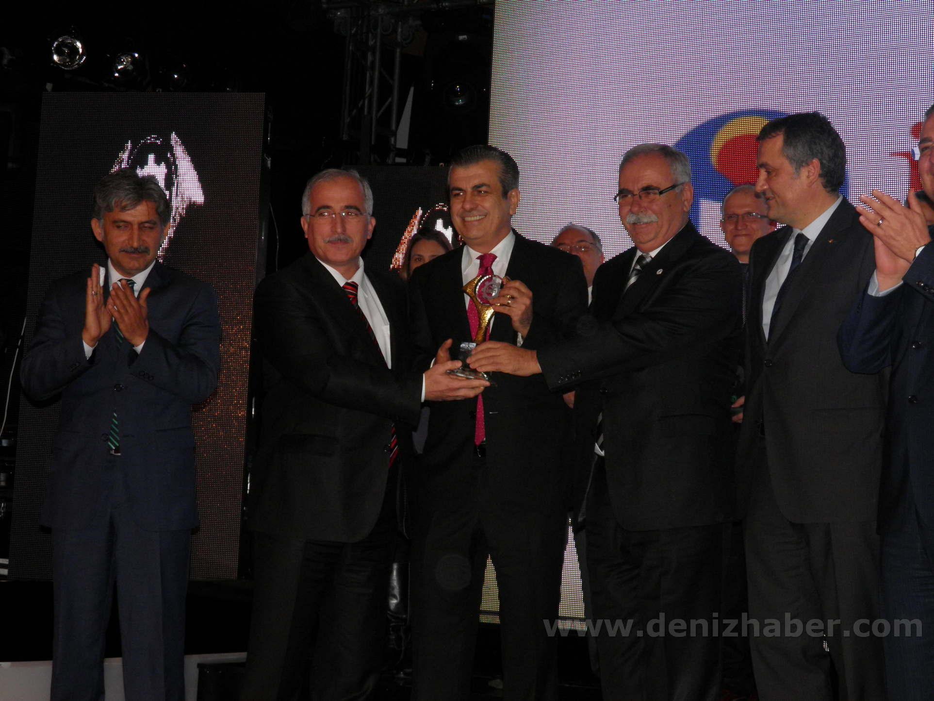 """İÇDAŞ'a """"Sürdürülebilir Çevre"""" Ödülü"""