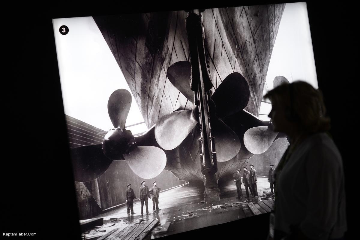 Titanik'in tarihi objeleri Madrid'de sergileniyor