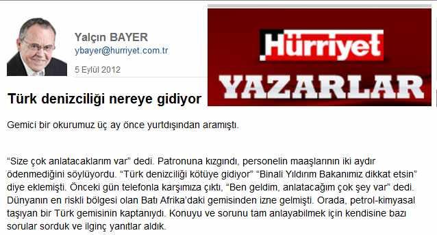 Türk denizciliği nereye gidiyor?
