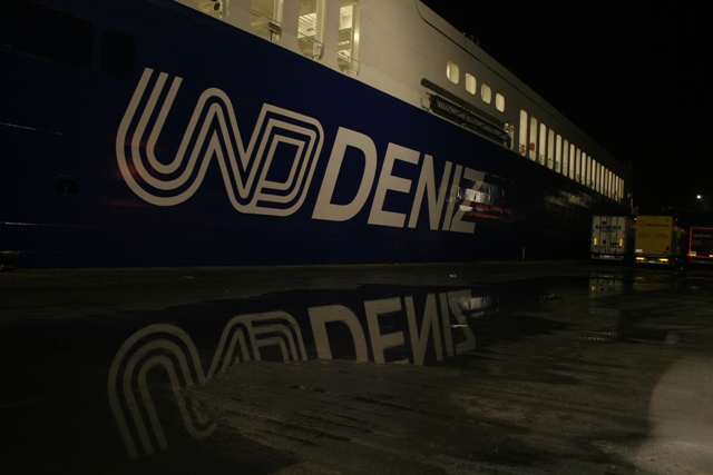 UND Deniz'den Trieste'ye Ro Ro seferleri