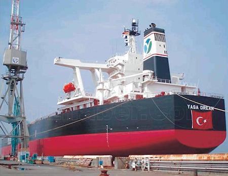 Türkiye'nin en büyük gemisi seferde