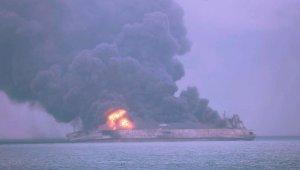 Çin'deki tanker kazasında 1 cesede ulaşıldı