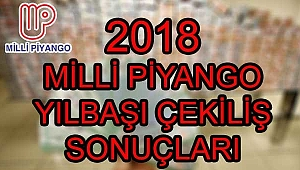 Milli Piyango sonuç sorgulama ekranı! Milli Piyango yılbaşı sıralı tam liste... (2018 MPİ bilet sorgulama)