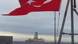 TPAO'nun sondaj gemisi, savaş gemileri eşliğinde geldi