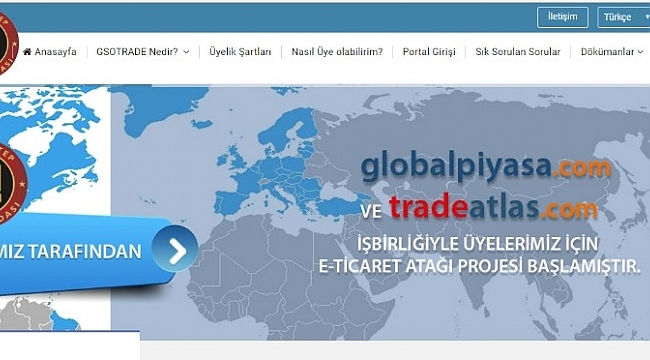 """GSO'nun E-Ticaret Sitesi """"Gsotrade.com"""" yayın hayatına başladı"""