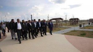 Kumul Park Sahil Projesi tamamlandı