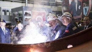 Milli Denizaltı Projesi ilk kaynak töreni