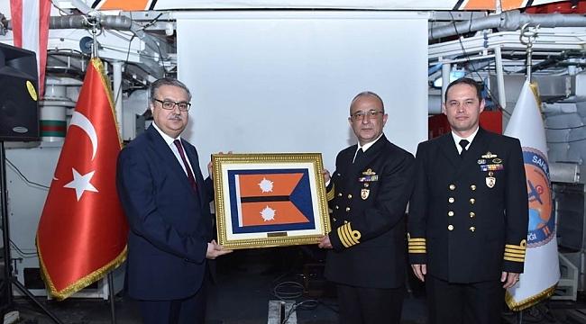 Sahil Güvenlik Akdeniz Bölge Komutanlığı'nda devir teslim töreni
