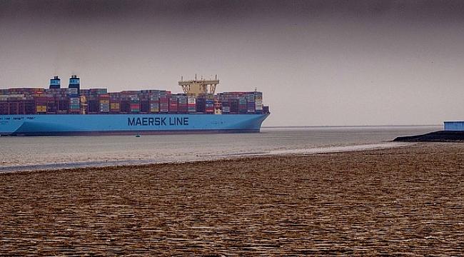 Maersk'ün Bir Gemisinde Daha Yangın Çıktı!