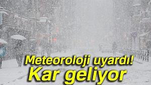 Meteoroloji uyardı! Kar geliyor |3 Mart Cumartesi yurtta hava durumu