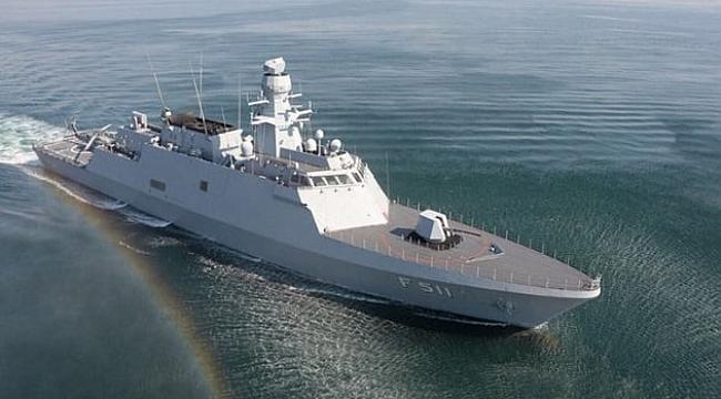 MİLGEM Ada Sınıfı Korvet projesinin üçüncü gemisi ilk seyrine çıktı