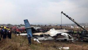 Nepal'da yolcu uçağı düştü: 38 ölü