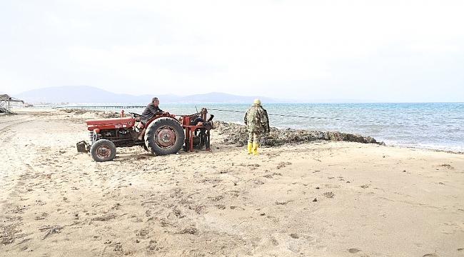 Ören'de deniz temizliği