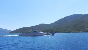 """TSK: """"Bir çıkarma gemisi ile 3 karakol gemisi Akdeniz'de eğitimlerini tamamladı"""""""