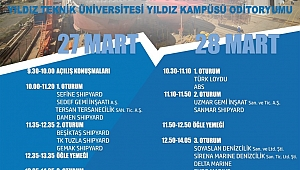 Yıldız Teknik Üniversitesi Gemi Mühendisliği Zirvesi