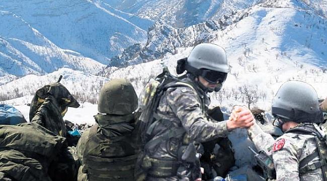 Afrin operasyonunun kahraman denizcileri