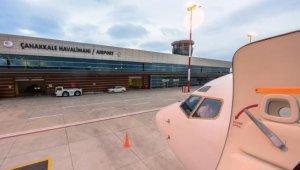 Çanakkale Havalimanı'nda 16 bin yolcuya hizmet verildi