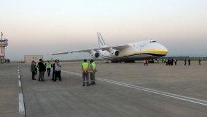 """Dünyanın en büyük ikinci kargo uçağı """"Minik Kelebek"""" Bursa'da"""