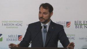 """Enerji ve Tabii Kaynaklar Bakanı Berat Albayrak: """"Türkiye dünyayı kirleten ülkeler sıralamasında çok aşağıda"""""""