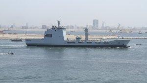 Türk Savunma Sanayi'nin en büyük projesi olan denizde ikmal gemisi, ilk seyrine çıktı