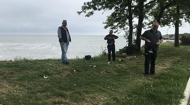 Balıkçılar çapara oltası yapımına başladı