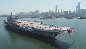 Çin'in ikinci uçak gemisi ilk deneme seferine başladı