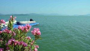 Köyceğiz Gölü turkuaz rengiyle büyülüyor