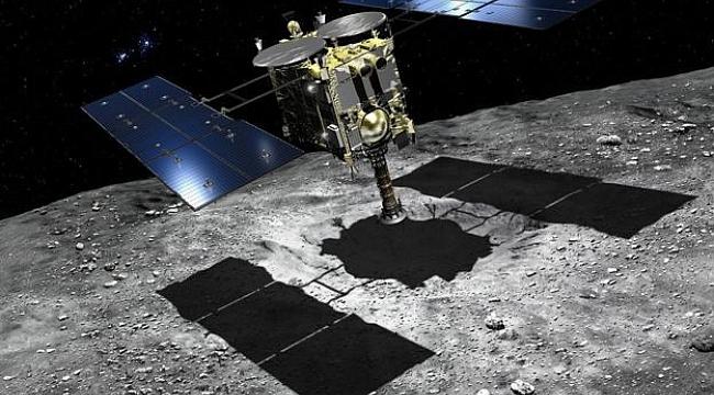 Japonya'nın Hayabusa 2 uzay aracı kozmik 'elmasa' ulaştı