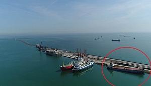 Karaya oturan gemi Danıştay kararını bekliyor