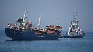 Kıyıya Vuran M/V SİNAN NAİBOĞLU Gemisi Kurtarıldı