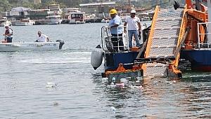 5 ayda denizden yaklaşık 500 ton çöp çıktı
