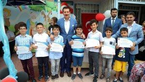 İLKEM'de yaz kursu mezuniyet sevinci