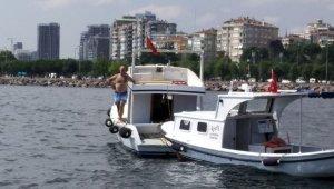 Su alan teknesini tamir etmek için denize atladı, bir daha çıkmadı