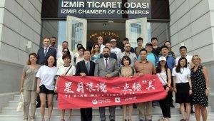 Çin'in ünlü isimlerinden İzmir Ticaret Odasına ziyaret