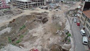 İnşaat alanından bin yıllık tarih çıkınca çalışmalar durduruldu