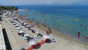 Kocaeli'nin plajları örnek olarak gösteriliyor