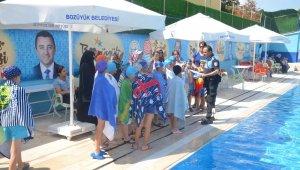 Minik yüzücüler bilgilendirildi
