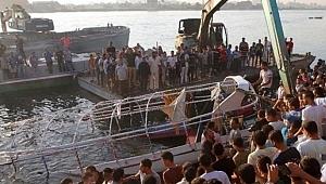 Nil Nehri'nde tekne faciası: 23 ölü