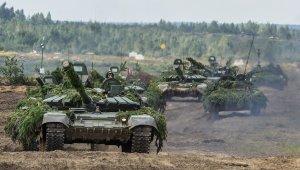 Rus ordusu uydu üzerinden tatbikata başladı