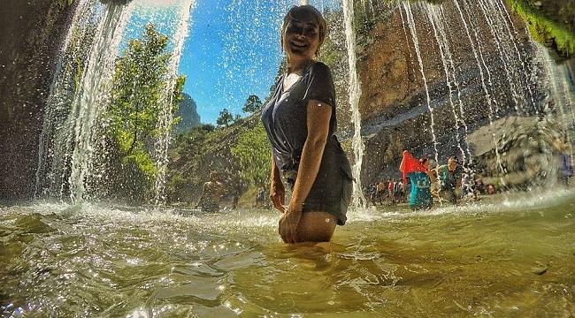 Turistlerin yeni gözdesi Aladağ Küp Şelaleleri