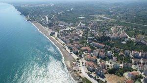 Akçakoca'daki plajların deniz suyu yüzülebilir kalitede