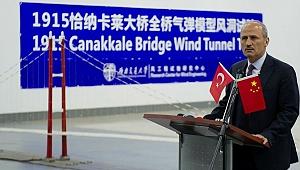 """Bakan Turhan'dan Çin'de müjde: """"1915 Çanakkale Köprüsü 18 Mart 2022 yılında açılacak"""""""