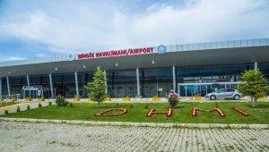 Bingöl Havalimanı geçtiğimiz ay 19 bin 561 yolcuya hizmet verdi